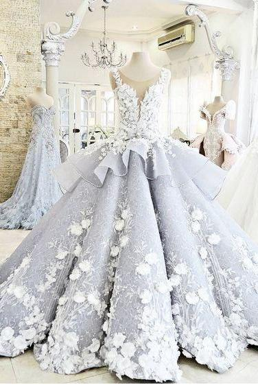 High Quality Light Blue Ball Gown Birthday Dress Quinceanera Dress Special Dress