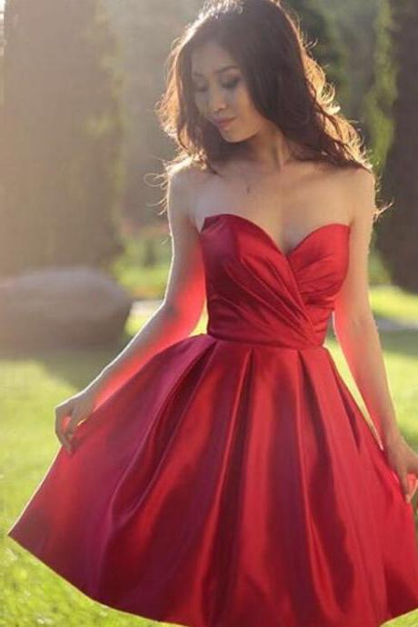 Short Sweetheart Prom Dress Homecoming Dresses Party Gowns